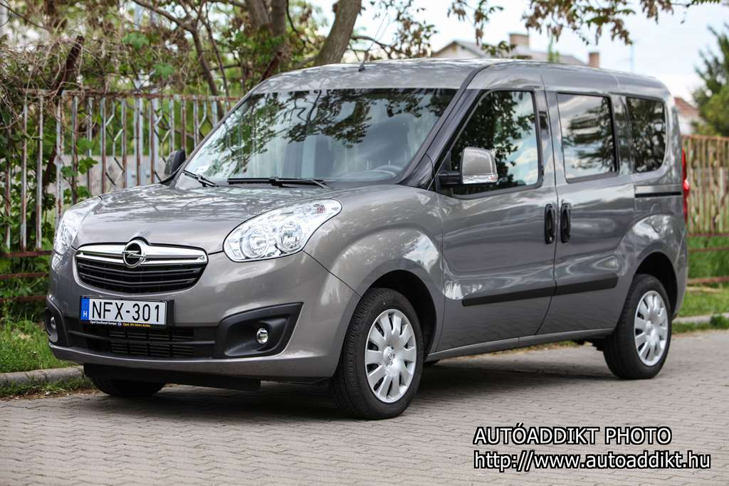 teszt opel combo tour 1 6 cdti ecotec start stop enjoy l1h1 k nnyed s hat kony. Black Bedroom Furniture Sets. Home Design Ideas