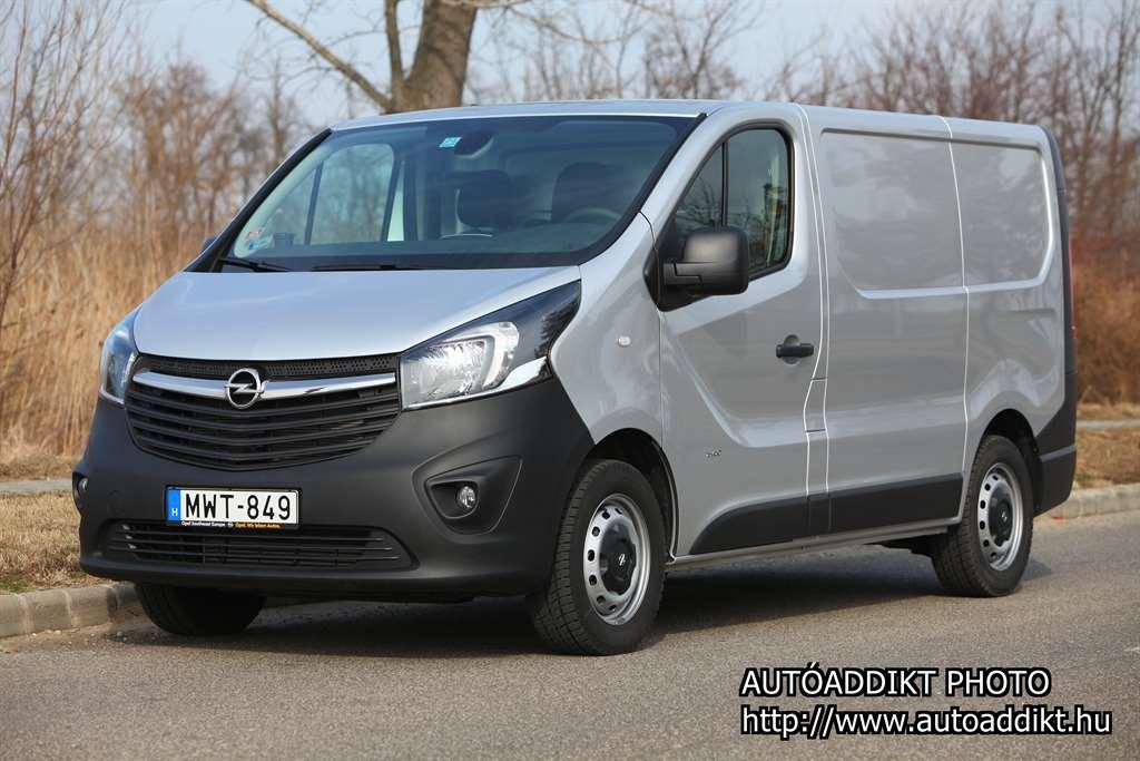 [TESZT] Opel Vivaro Van 16 CDTI StartStop L1H1 27t